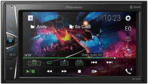 Pioneer Dmh-G220Bt Car Radio Stereo Mp3 Usb Aux In Bluetooth Double Din Rev Cam