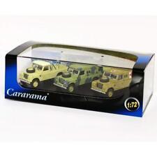 Oxford Diecast Cararama 1:72 713PND011 Military Land Rover 3 piece Set