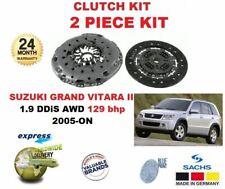 FOR SUZUKI GRAND VITARA II 1.9 DDiS AWD 129 bhp 2005-->NEW 2 PIECE CLUTCH KIT