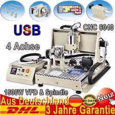USB 6040 CNC Fräsemaschine 4 Achse Router Engraver Desktop + Controller Handrad