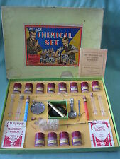 DV5749 JEU SCIENTIFIQUE CHEMICAL SET BGL BRITISH GAS LIGHT COMPANY 1930 COMPLET