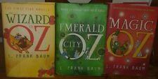 L.Frank Baum Wizard Of Oz Hardcover Books Series 1 Thru 15 In 3 Books