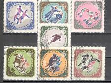R9911 - MONGOLIA 1961 - SERIE COMPLETA SPORT N°226/32 - VEDI FOTO