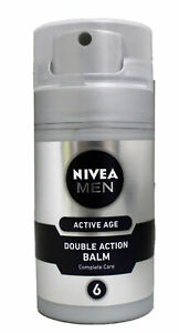 Nivea Men Active Age Double Action Balm Complete Care 2.7 Ounce (Pack of 4)