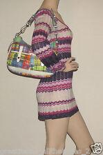 Authentic DOONEY & BOURKE Madras Multicolor Plaid Shoulder Bag