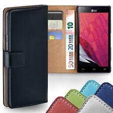 HANDY TASCHE LG Optimus L7 L5 L3 L1 II G Pro L9 BOOK CASE SCHUTZ HÜLLE COVER