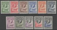 BECHUANALAND SG143/52 1955 DEFINITIVE SET TO 5/= MTD MINT