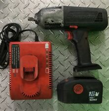 Snap On CT4850H0 1/2in Cordless Impact Gun With Batteries And Charger