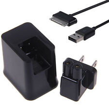 "HOT BLACK USB WALL CHARGER ADAPTER CABLE FOR SAMSUNG GALAXY TAB 2 TABLET 7"" 8.9"""