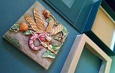 Martin's Minstrels Pxgc1 Picturesque Tile Harmony Kingdom Byron's Secret Garden