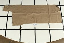 """High Quality """"Beer Country"""" Beige Scrap Leather Hide Approx. 6 sqft. L1D16-7"""