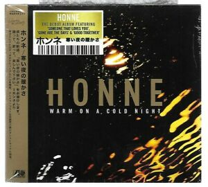 HONNE - Warm On A Cold Night / CD Digipack Neuf sous blister