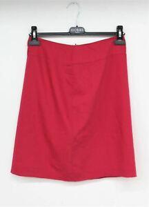BAZAR CHRISTIAN LACROIX Ladies Hot Pink Wool Blend A-Line Skirt UK10 FR38