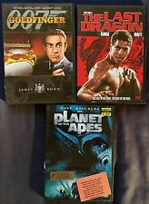 Dvd Compilation(Z-4): Goldfinger, The Last Dragon, Planet of the Apes