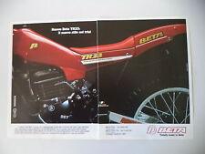advertising Pubblicità 1985 MOTO BETA TR33 TR 33