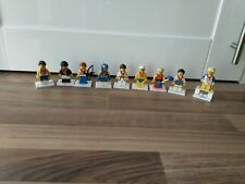 Lego Minifigures bundle GB Olympic Full Set of 9 bulk lot 8909  mini fig