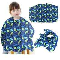Kids Barber Cape Hair Cutting Gown Apron Hairdressing Covers Dress Waterproof