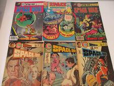 New ListingScience Fiction Comic Book Lot Space 1999 War Adventures 3 6 7 29 30 Sci Fi '70s