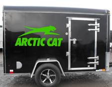 2X Arctic Cat Leap Logo Vinyl Vehicle Trailer Truck Graphic Decal Snow Machine