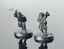 LOTR Lord Of The Rings WILDMEN OF THE DUNLAND metal OOP X 2