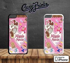 Minnie Mouse Hornear lindo duro funda para todos los modelos iPhone B32