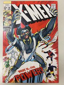 THE X-MEN #56 (1963 Series) THE LIVING PHARAOH 3rd APP HAVOK ALEX SUMMERS