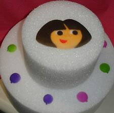 Dora the Explorer Edible Cake Decoration,Molded Sugar,Multi-Color, DecoPac,