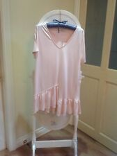 womens pink top size 16