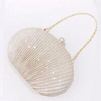 Clutch Bags For Wedding Party Bridal Womens Purse Ladies Evening Handbag Chain