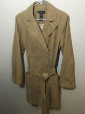 Abercrombie & Fitch Corduroy Button Coat Jacket Flannel Lined Womens Size Large