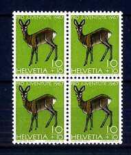 """SWITZERLAND - SVIZZERA - 1967 - """"Pro Juventute"""". Fauna locale. R495"""