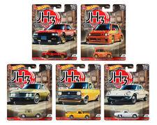 Hot Wheels Japan Historics 3 Set of 5 Cars Datsun Sunny B121, Mazda Cosmo 1/64