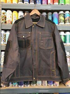 Dickies Mens Medium Workwear Jacket Denim Style New Without Tags Vintage
