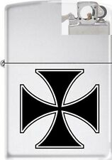 Zippo ZCB62204 Iron Cross Lighter with PIPE INSERT PL