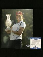 Paula Creamer signed LPGA 8x10 Photo BAS