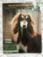 Sighthound Review Magazine Jeshins Arabis Cover +Articles Sept/Oct 1990