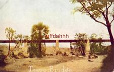 "TSAVO BRIDGE, UGANDA, AFRICA ""ROOSEVELT TOUR"" publ by Arthur Capper"