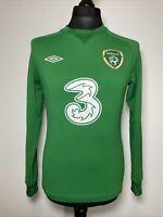 Umbro Republic Of Ireland Sweater Pullover Jumper Men's Football Top S Small