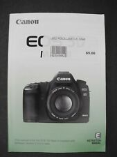 #2 Canon EOS 5D Mark III Genuine Camera Instruction Book / Manual / User Guide