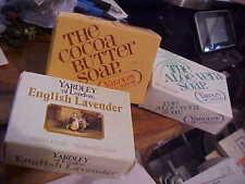 Yardley of London Cocoa Butter Bath  English Lavender Aloe  Soap Bar Vintage