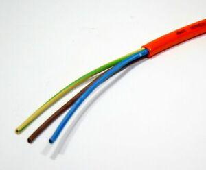 H07BQ-F 3x2,5mm²  Elektrokabel, PUR Kabel, Geräteleitung, Aussen, Meterware