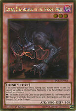 Cagna, Malebranche of the Burning Abyss Gold Rare Yugioh Card PGL3-EN051
