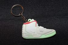 Nike Air Yeezy 2 Platinum Keychain Key Ring II Supreme