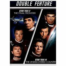 Star Trek V: The Final Frontier/Star Trek VI:The Undiscovered Country EXCELLENT!