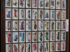 FRAMED BROOKE BOND TEA CARDS / CARS
