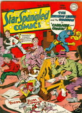 Star Spangled Comics #29 Signed by Joe Simon