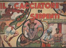 IL CACCIATORE DI SERPENTI  originale nerbini  1935