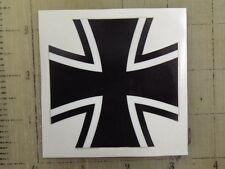 "Vintage German Cross sticker decal sign 3"""