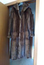 Pelliccia cappotto in vero visone pelli intere tg. 44/46