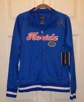 Pro Edge Ladies Blue Florida Gator Zipper Jacket Size Large UF NEW WITH TAG